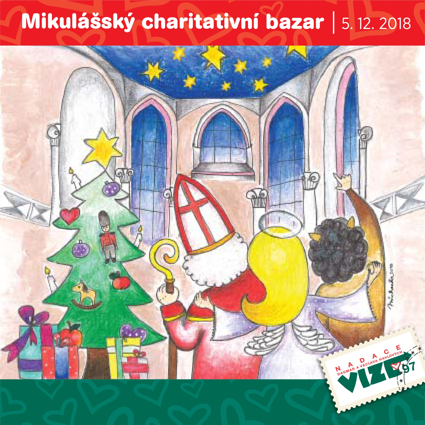 Pozvánka na Mikulášský charitativní bazar
