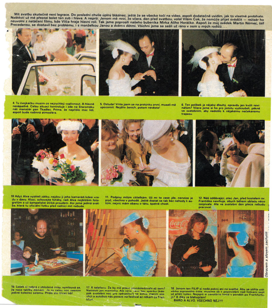 První svatba